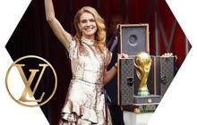 Trước khi đến tay đội vô địch, cúp vàng danh giá của World Cup 2018 được đặt trong vali Louis Vuitton sang chảnh nhường này