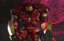 Ảo thuật siêu phàm: Mang Iron Man cao 3,5m lên sân khấu, thí sinh khiến Lý Nhã Kỳ chưa hài lòng