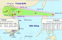 Áp thấp nhiệt đới áp sát đất liền, biển Đông có nguy cơ đón bão giật cấp 10