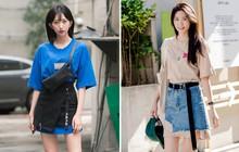 """Nếu thích diện áo phông và chân váy ngắn, bạn cần học ngay công thức """"sơ vin 2 tầng"""" do giới trẻ Hàn vừa khởi xướng"""