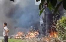 Tăng nấc điện máy biến áp gây cháy nổ vang trời, 2 người bị thương ở Sài Gòn