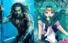 """""""Aquaman"""" vừa tung poster hé lộ tạo hình của Thủy thủ Mặt Trăng đấy à?"""