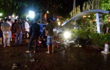 Tài xế tông chết 2 nữ sinh 18 tuổi trước quán cà phê có uống rượu trước khi lái xe