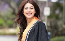 Nhan sắc xinh đẹp như mỹ nhân Ấn Độ của em gái Hoa hậu Jennifer Phạm