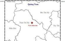 3 ngày liên tiếp xảy ra 2 trận động đất ở Quảng Nam