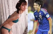 Bóng hồng Nhật Bản cưới tiền vệ kém tuổi hậu World Cup