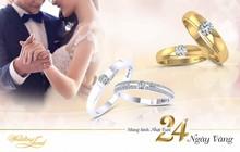 DOJI tung BST nhẫn cưới 2,4 triệu đồng đón tuổi 24