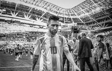 Messi, Ronaldo, Neymar, Mbappe, Pogba trong ảnh đen trắng khó quên ở World Cup