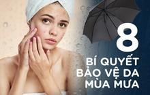 Những ngày trời mưa, hãy chú ý những bí quyết dưới đây để chăm sóc tốt cho làn da bạn