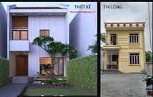 """""""Đẽo cày giữa đường"""": Ngôi nhà khác xa bản thiết kế vì quá nhiều người tham gia... góp ý"""