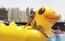 Cuộc sống tự do hạnh phúc của single mom Việt, lương 20 triệu vẫn đủ ăn tiêu thoải mái ở Dubai
