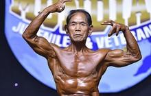 Muốn làm vợ vui lòng, cụ ông Nhật Bản siêng năng tập tạ để có body 6 múi ở tuổi 81