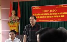 Khởi tố hình sự vụ Phó trưởng phòng khảo thí và quản lý chất lượng nâng điểm 330 bài thi THPT ở Hà Giang
