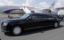 Chuyên xa của Tổng thống Putin thu hút sự quan tâm của khách nước ngoài 