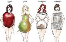 Không muốn mỡ thừa tồn đọng trong cơ thể thì bạn nên biết cách ăn phù hợp với từng vóc dáng