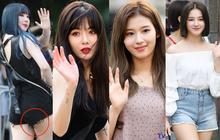 Quân đoàn mỹ nam mỹ nữ Kpop đổ bộ: Hyuna bỗng xinh bật lên so với dàn nữ thần, idol lộ vòng 3 vì mặc quần cũn cỡn