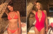 53 tuổi vẫn chinh phục mọi loại bikini, mỹ nhân này khiến các người đẹp đáng tuổi con mình phải dè chừng