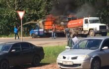 Nga: Xe cứu hỏa không đến kịp, xe hút hầm cầu phải xung phong ra dập lửa