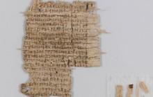 Bí mật tờ văn tự cổ viết trên giấy cói niên đại 2.000 năm tuổi đã được giải đáp: hóa ra là chữ bác sĩ