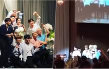 """Bất ngờ chưa, BTS vừa mang siêu hit """"DNA"""" đi hát... đám cưới"""