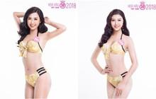 Ngay trước đêm Chung khảo phía Bắc, thí sinh Hoa hậu Việt Nam 2018 diện bikini khoe vóc dáng nóng bỏng
