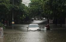 Cảnh báo khẩn cấp ngập lụt khu vực nội thành Hà Nội