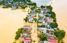 Nhiều hộ gia đình ở Nho Quan bị cô lập do mưa lũ