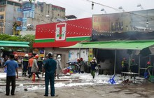 Hà Nội: Cháy lớn quán lẩu trên đường Nguyễn Hữu Thọ, một người mắc kẹt tử vong