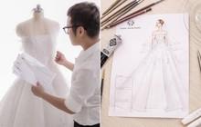 Đây chính là chiếc váy cưới trong mơ mà Á hậu Tú Anh sẽ mặc trong đám cưới tối nay