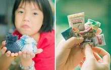 Thế giới thu nhỏ làm từ vật liệu tái chế của cô bé lớp 4 khiến dân mạng tan tim vì quá dễ thương
