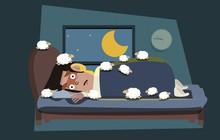 Ngủ không ngon? Thử xem có mắc 1 trong 5 lý do này không nhé