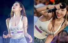 """Cố tình hở bạo, cựu thành viên Wonder Girls dính nghi án """"dao kéo"""" vì vòng 1 phát tướng bất thường"""
