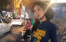 Bạn gái cũ tai tiếng của T.O.P khiến fan Việt phẫn nộ vì vừa mặc áo dài vừa tạo dáng phì phèo thuốc lá