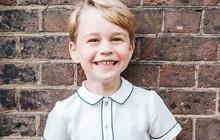 Vợ chồng Công nương Kate tự hào khoe ảnh Hoàng tử George cực tươi tắn đáng yêu nhân dịp sinh nhật 5 tuổi