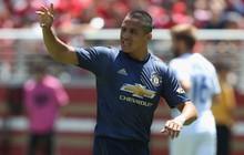 Alexis Sanchez tái xuất, Man Utd vẫn hòa bạc nhược trên đất Mỹ