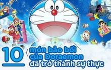 Cứ ngỡ bảo bối của Doraemon chỉ có trong truyện thế mà rất nhiều thứ đã thành hiện thực rồi đó