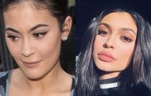 """""""Nữ hoàng môi tều"""" Kylie Jenner gây xôn xao vì đôi môi mỏng dính khó nhận ra sau khi rút filler"""