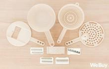 """Bộ đồ nhựa lúa mạch giúp bào nhỏ cả thế giới nhìn rõ đẹp nhưng rất khó """"cần trô"""""""