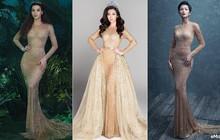 """Diện lại váy cũ sau Hồ Ngọc Hà và H'Hen Niê, Đỗ Mỹ Linh lại """"cao tay"""" khi biến hóa thêm chi tiết này"""