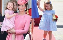 Lý do tại sao công chúa Charlotte chỉ luôn mặc váy hóa ra lại đơn giản thế này