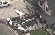 Mỹ: Cãi nhau với vợ, người đàn ông lái máy bay đâm thẳng vào nhà mình