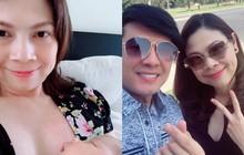 Vất vả chăm con nhưng Thanh Thảo vẫn giữ được vẻ ngoài tươi tắn đáng ngưỡng mộ sau gần 1 tháng sinh nở