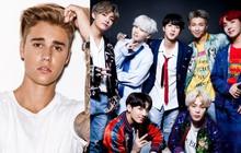 Vượt qua thành tích khủng của Justin Bieber, BTS xuất sắc thiết lập kỉ lục mới trên Billboard