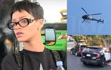 Hàng loạt xe cảnh sát và trực thăng kéo đến nhà Rihanna khi có chuông báo động, chuyện gì vừa xảy ra?