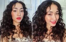"""Chán làm nàng thơ dịu dàng, Hòa Minzy biến thành """"nàng tiên cá mì xào giòn"""" với mái tóc xoăn nhất từ trước đến nay"""