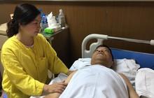 Hà Nội: Sức khoẻ chiến sĩ cảnh sát cơ động bị thiếu nữ vi phạm giao thông đâm gãy cẳng chân giờ ra sao?