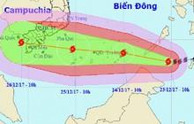 TP.HCM sẽ sơ tán 50 vạn người khi bão rất mạnh