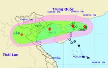 Bão số 4 di chuyển phức tạp hướng vào Hải Phòng - Thanh Hóa, miền Bắc mưa dồn dập 3 ngày
