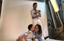 Khánh Thi tung ảnh hạnh phúc bên chồng con, trách yêu Phan Hiển về ồn ào xích mích tình cảm