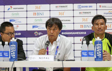 Thua Nhật Bản, HLV Nepal quyết ghi bàn vào lưới Olympic Việt Nam